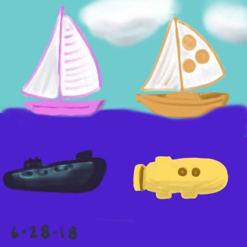 77/100 sail sub